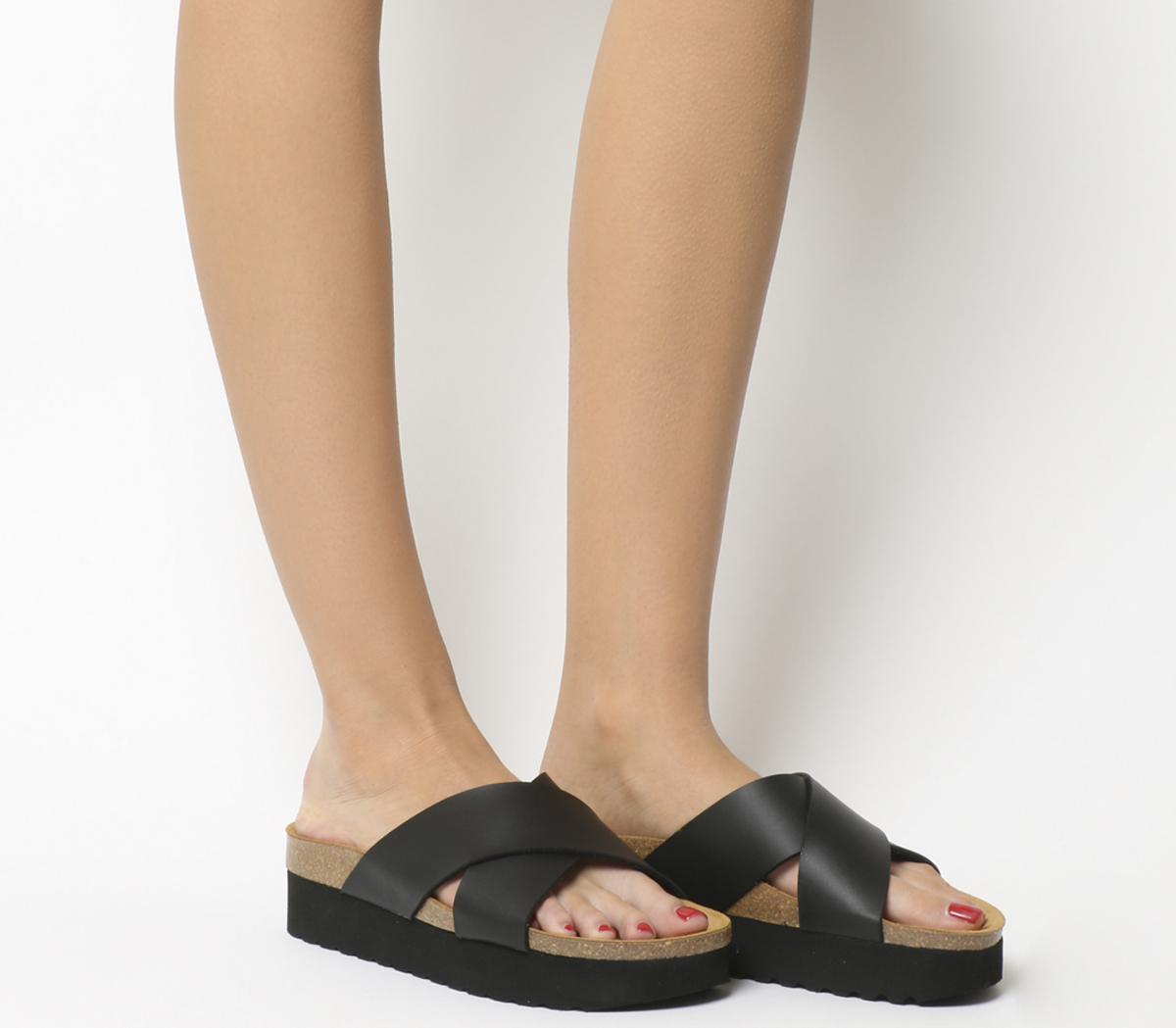 Office Warner Double Strap Footbed
