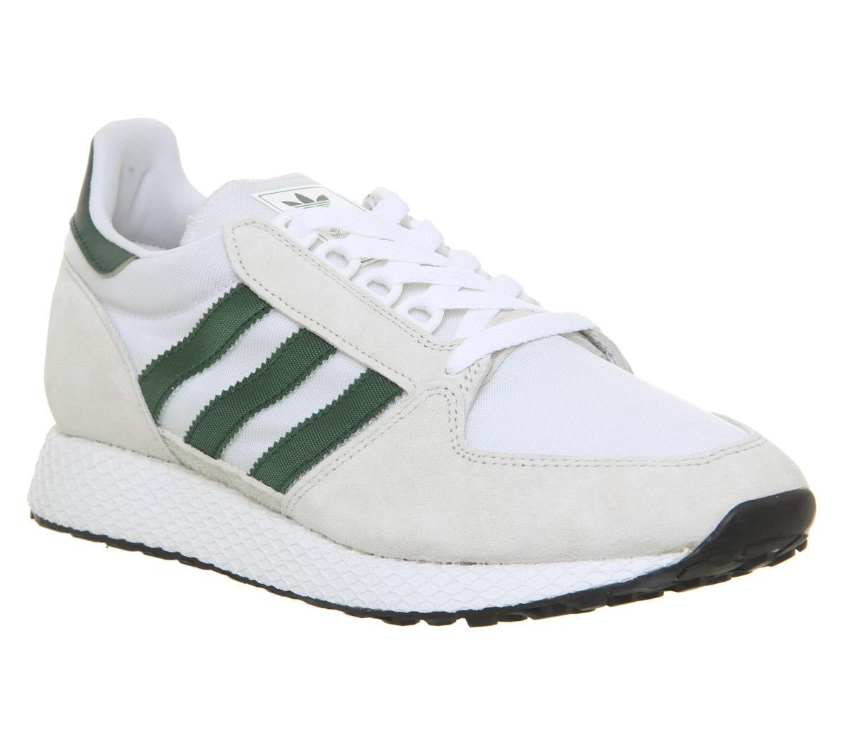 adidas originals Forest Grove crystal whitecollegiate green