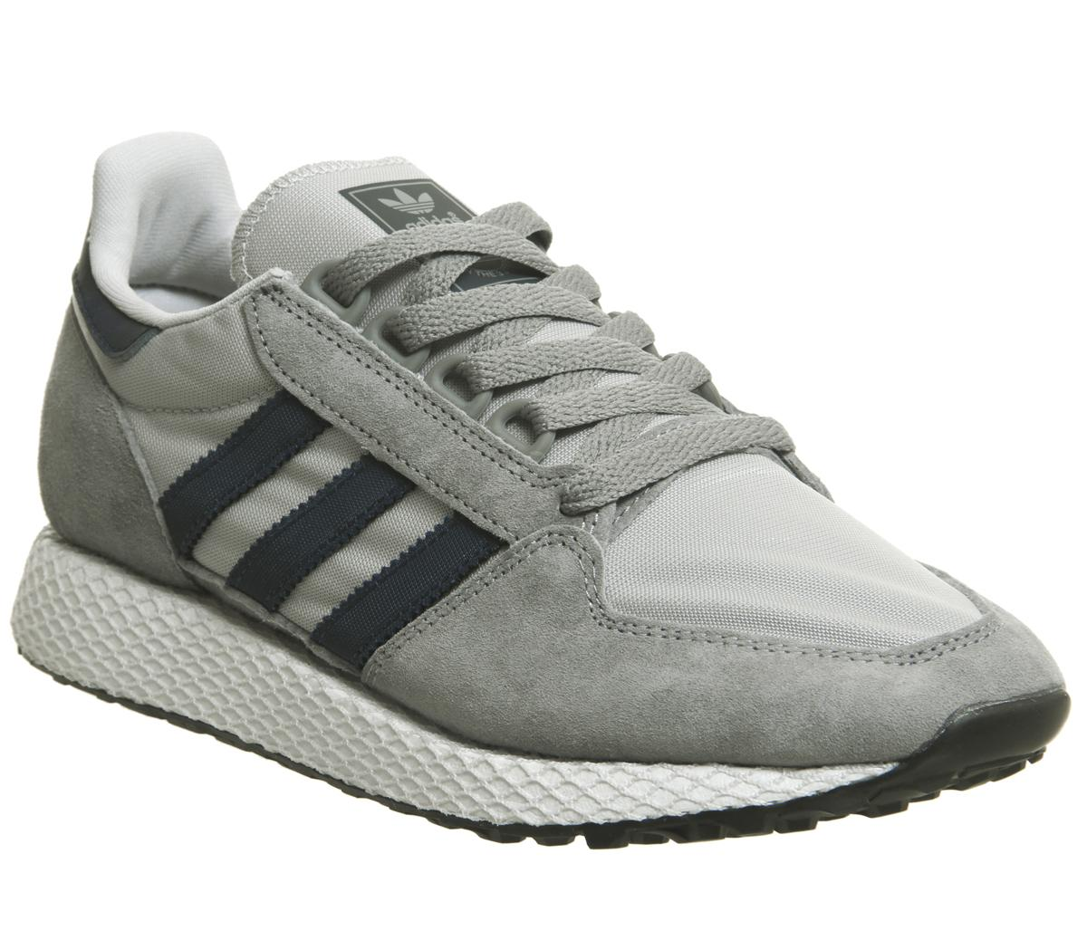 adidas Forest Grove Trainers Grey Three
