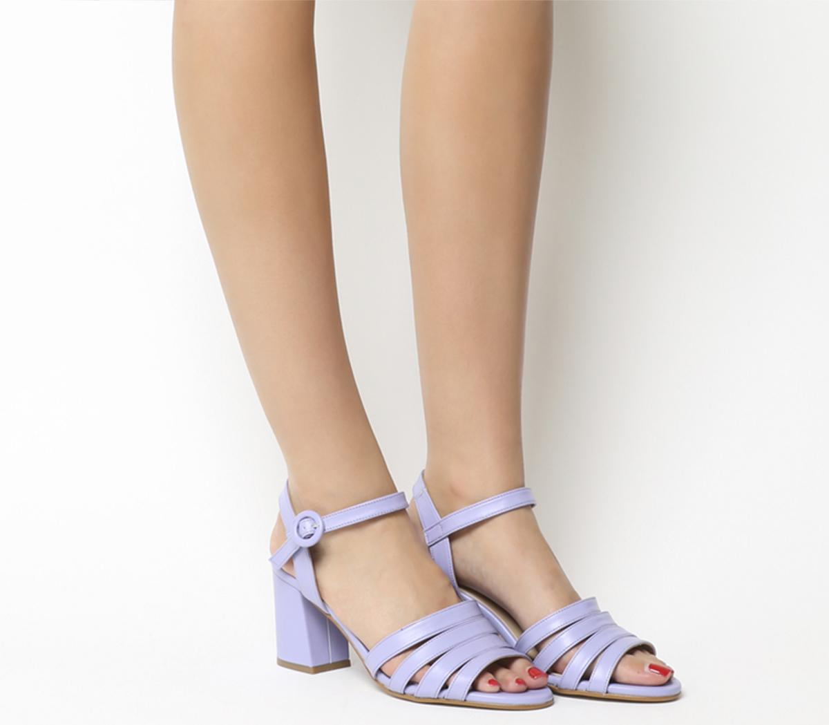Myla Strappy Mid Block Heels