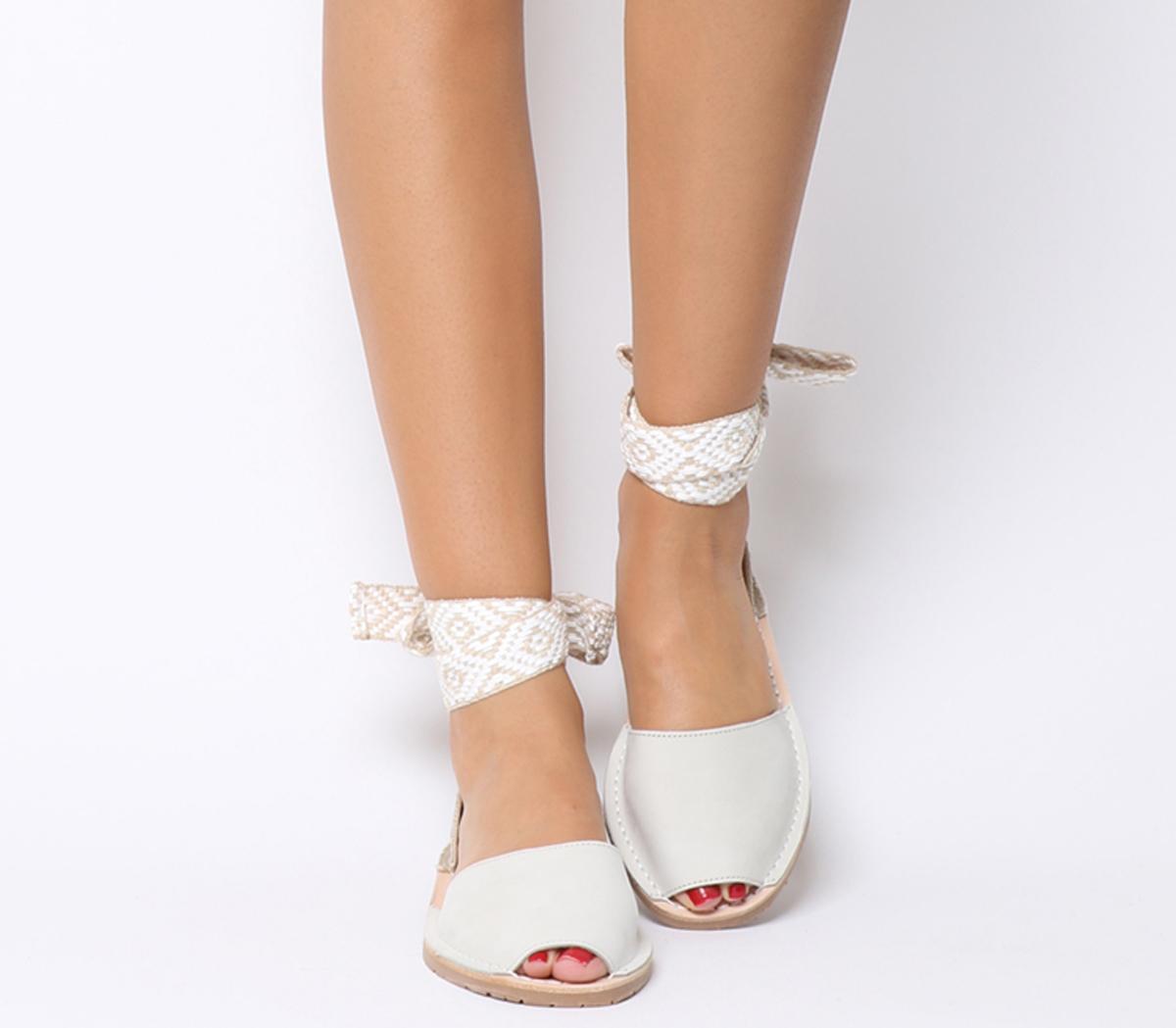 Solillas Wrap Tie Sandals