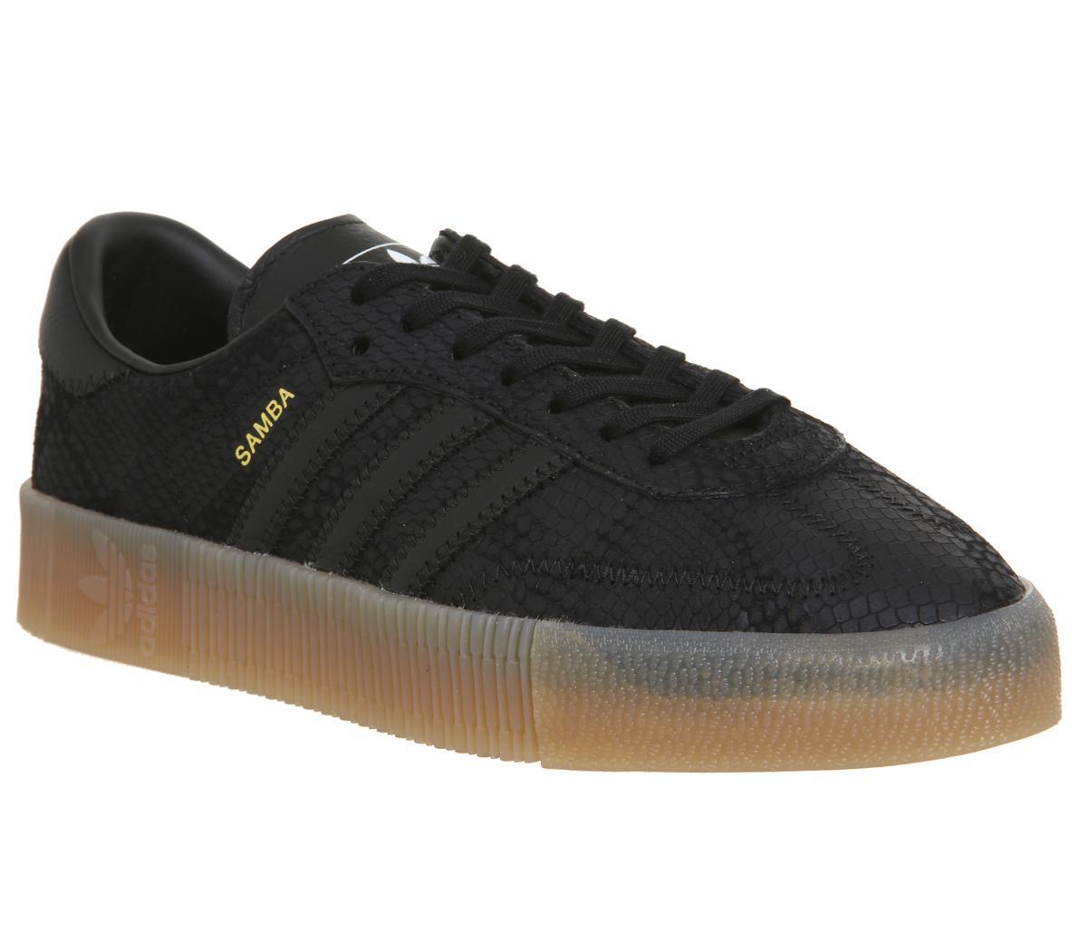 adidas Samba Rose Trainers Core Black