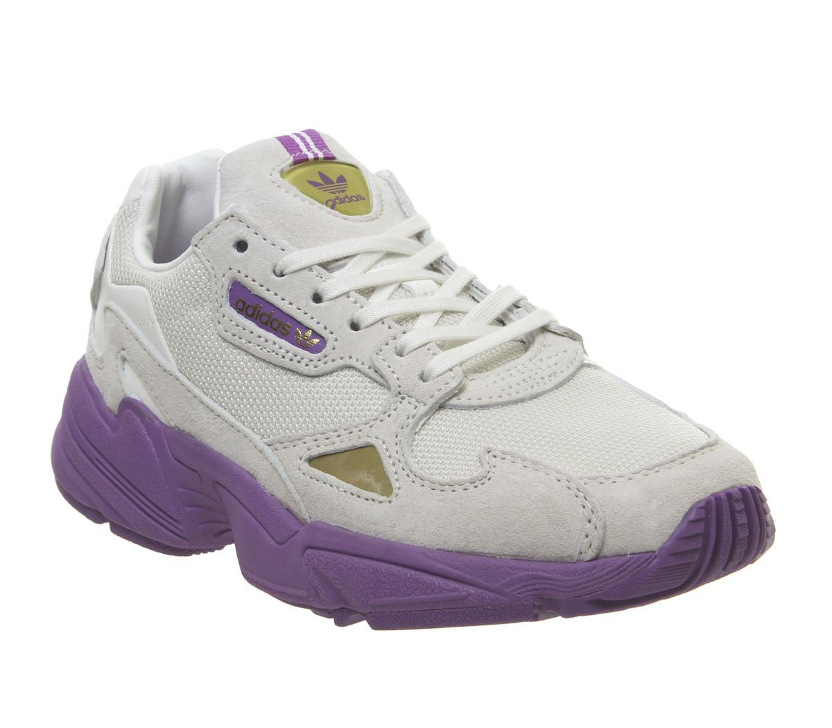 adidas falcon purple