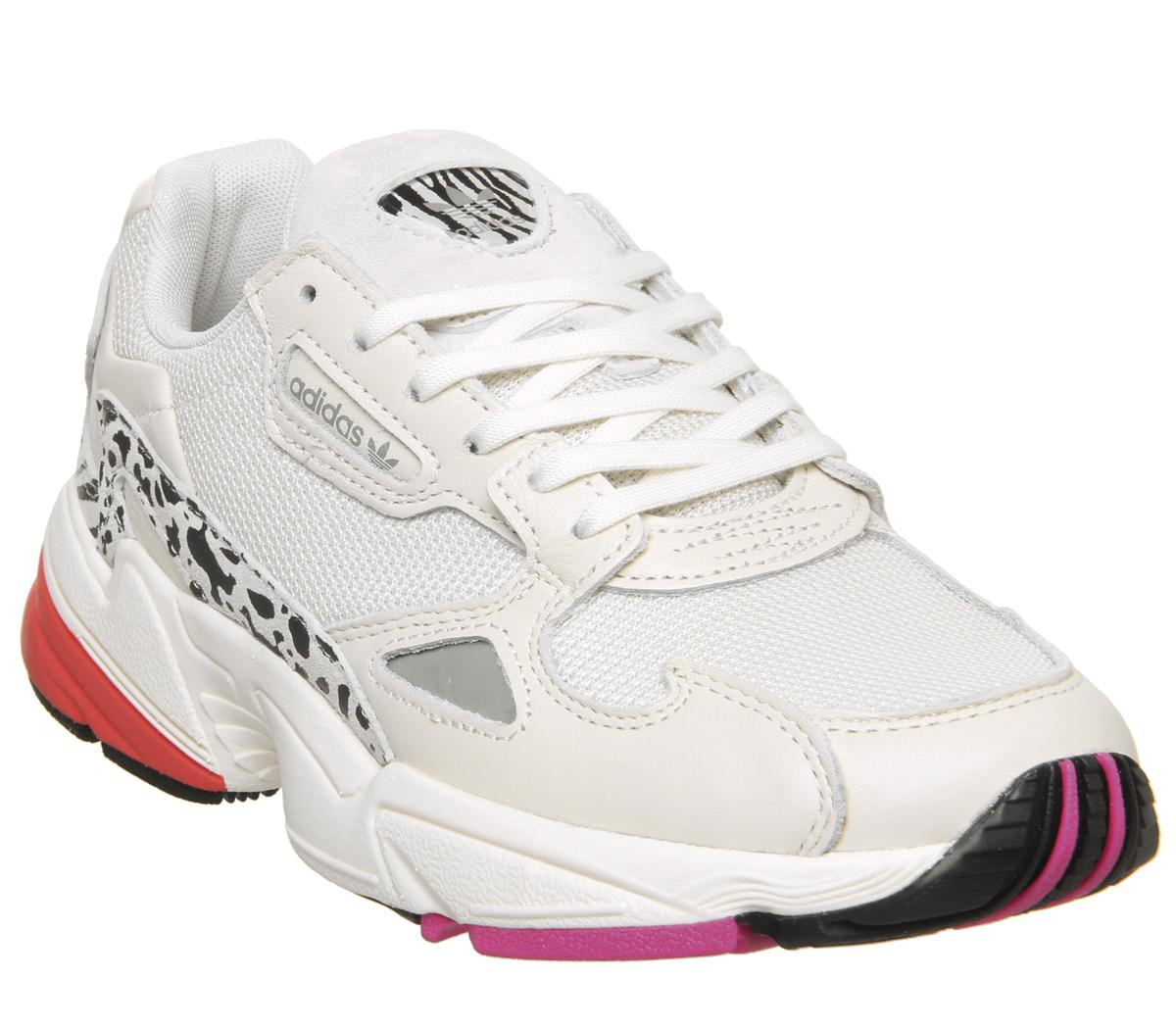 adidas Falcon Herren Sneaker Rot Schuhe, Größe:44