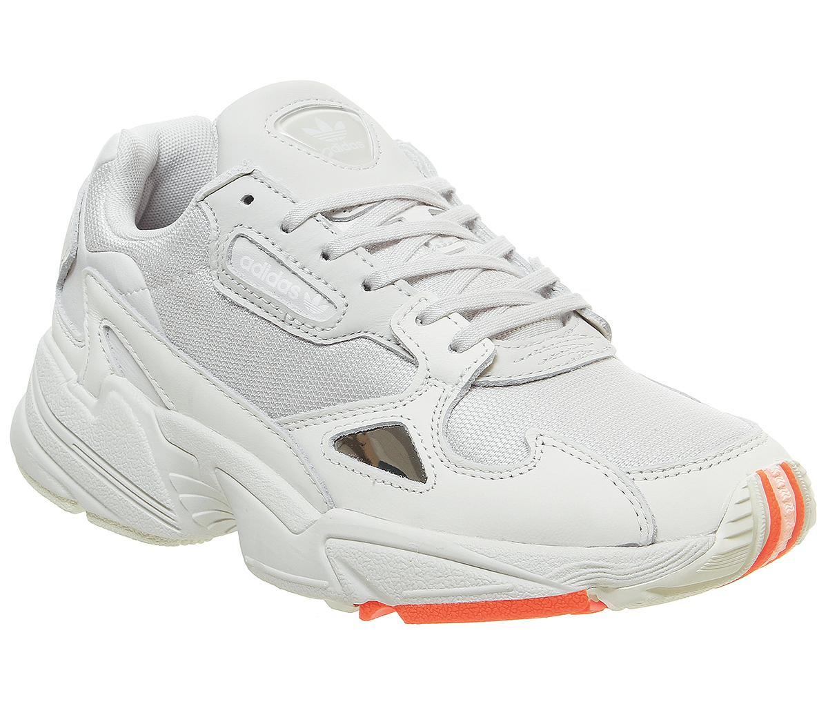 adidas falcon junior trainers