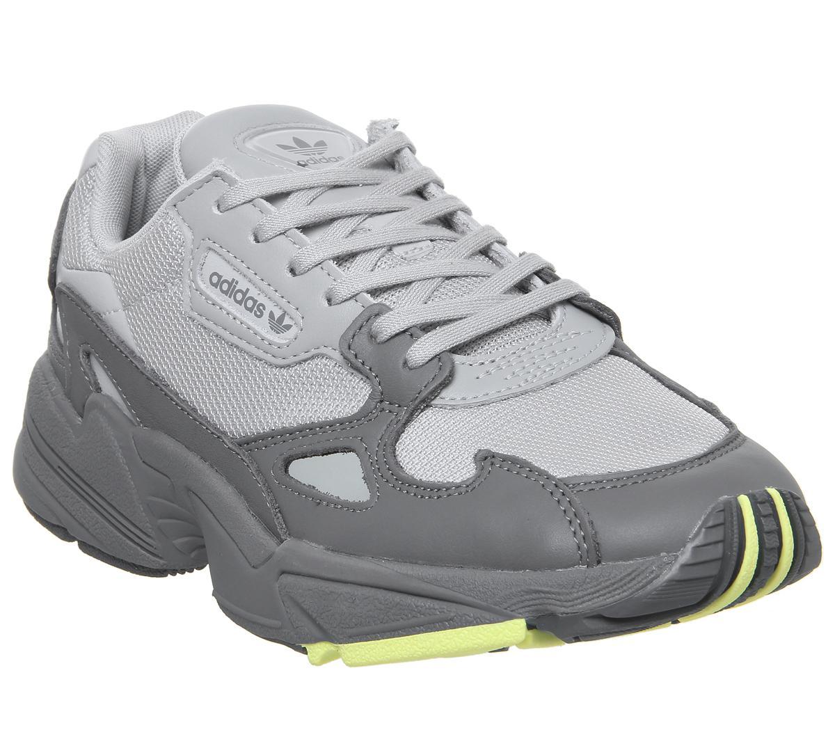 adidas Falcon Trainers Grey Four Hi