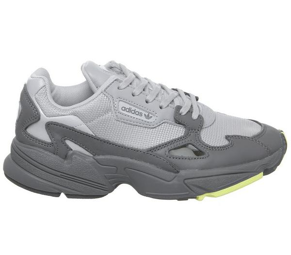 adidas Falcon Trainers Grey Four Hi Resyellow - Hers trainers WmkH6S6