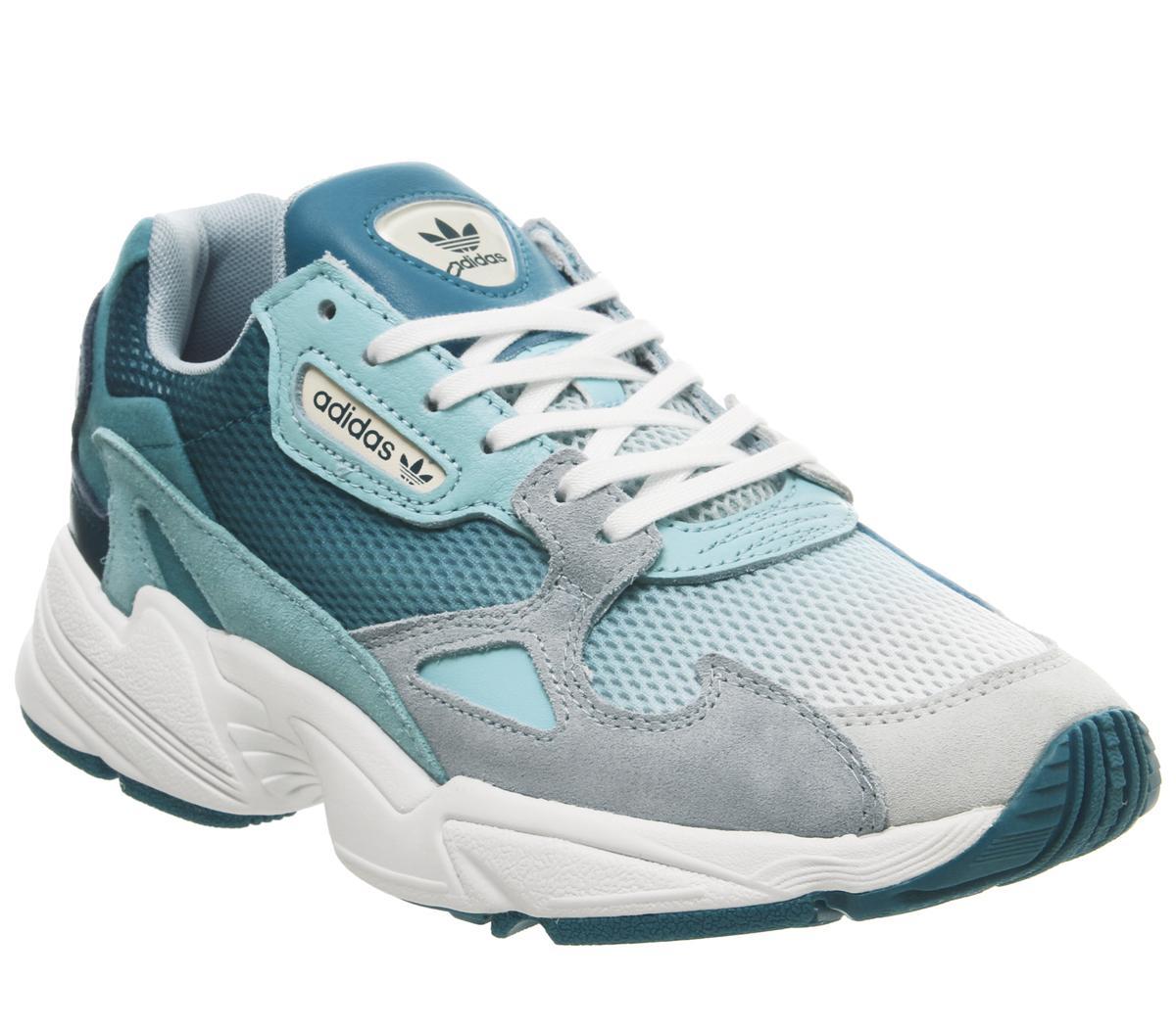 adidas Falcon Trainers Blue Tint Light