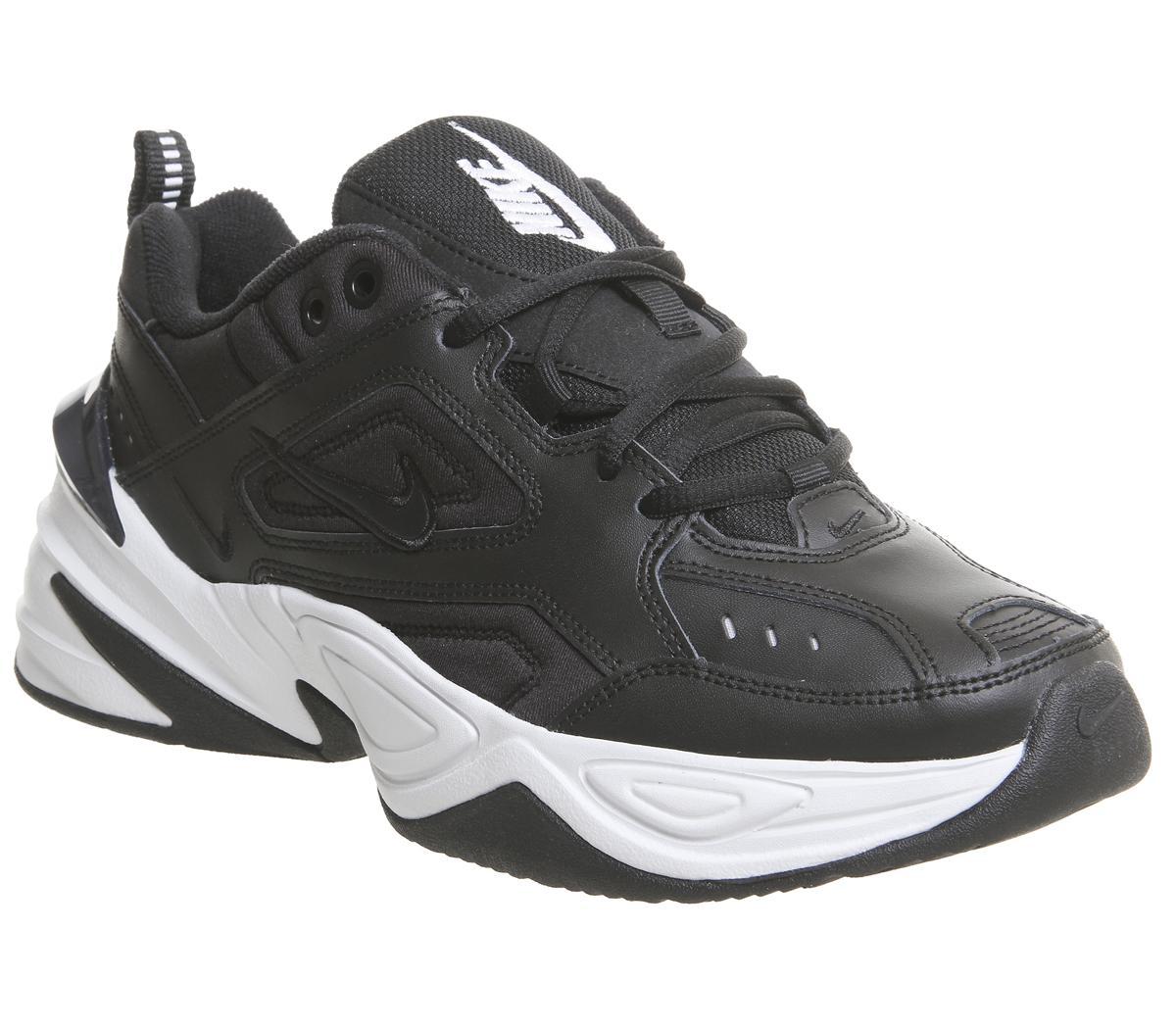 Nike M2k Tekno Trainers Black White F