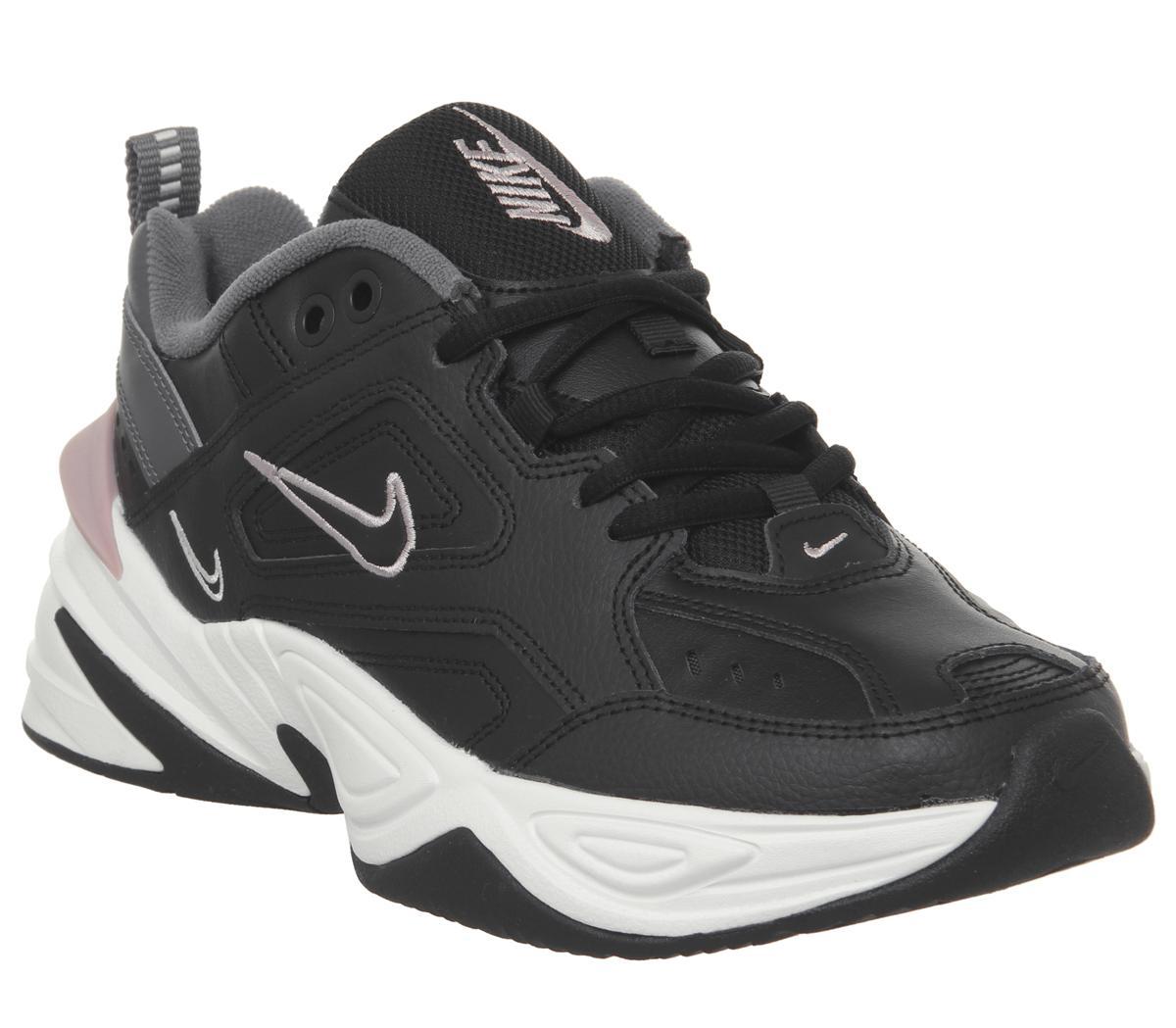 Nike M2k Tekno Trainers Black Plum