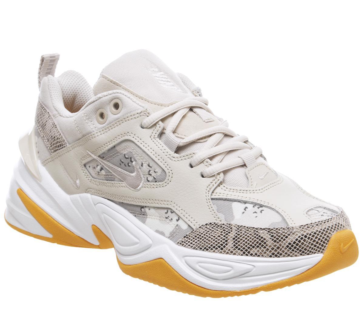 Nike – Sneaker 'M2K Tekno' aus Leder – Schwarz