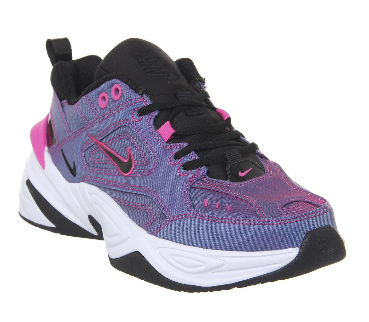 Nike M2k Tekno Laser Fuchsia Black