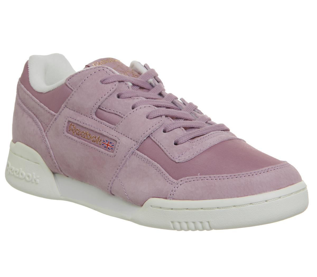Reebok Workout Lo Plus Trainers Infused