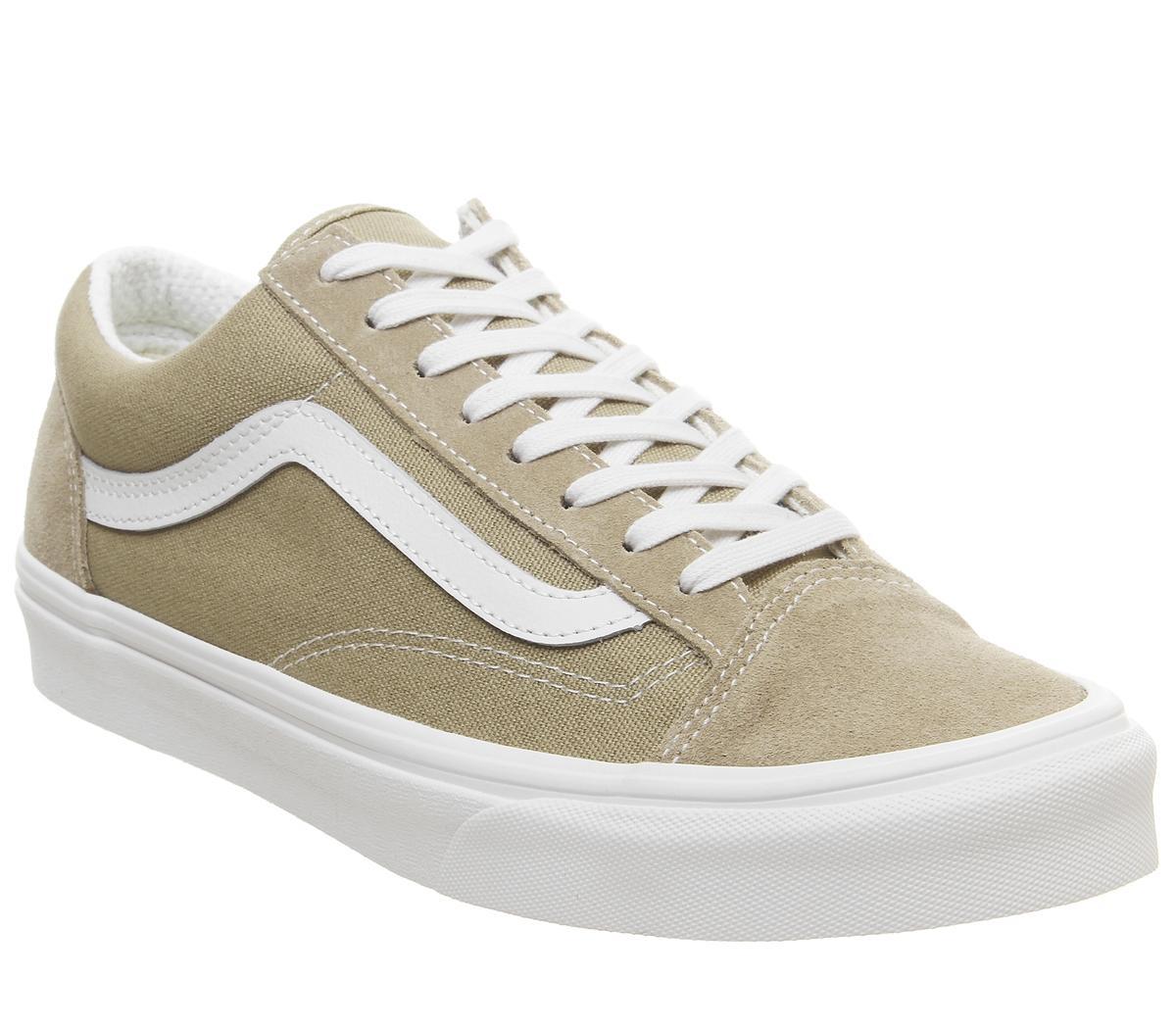 Vans Style 36 Trainers Khaki Blanc De