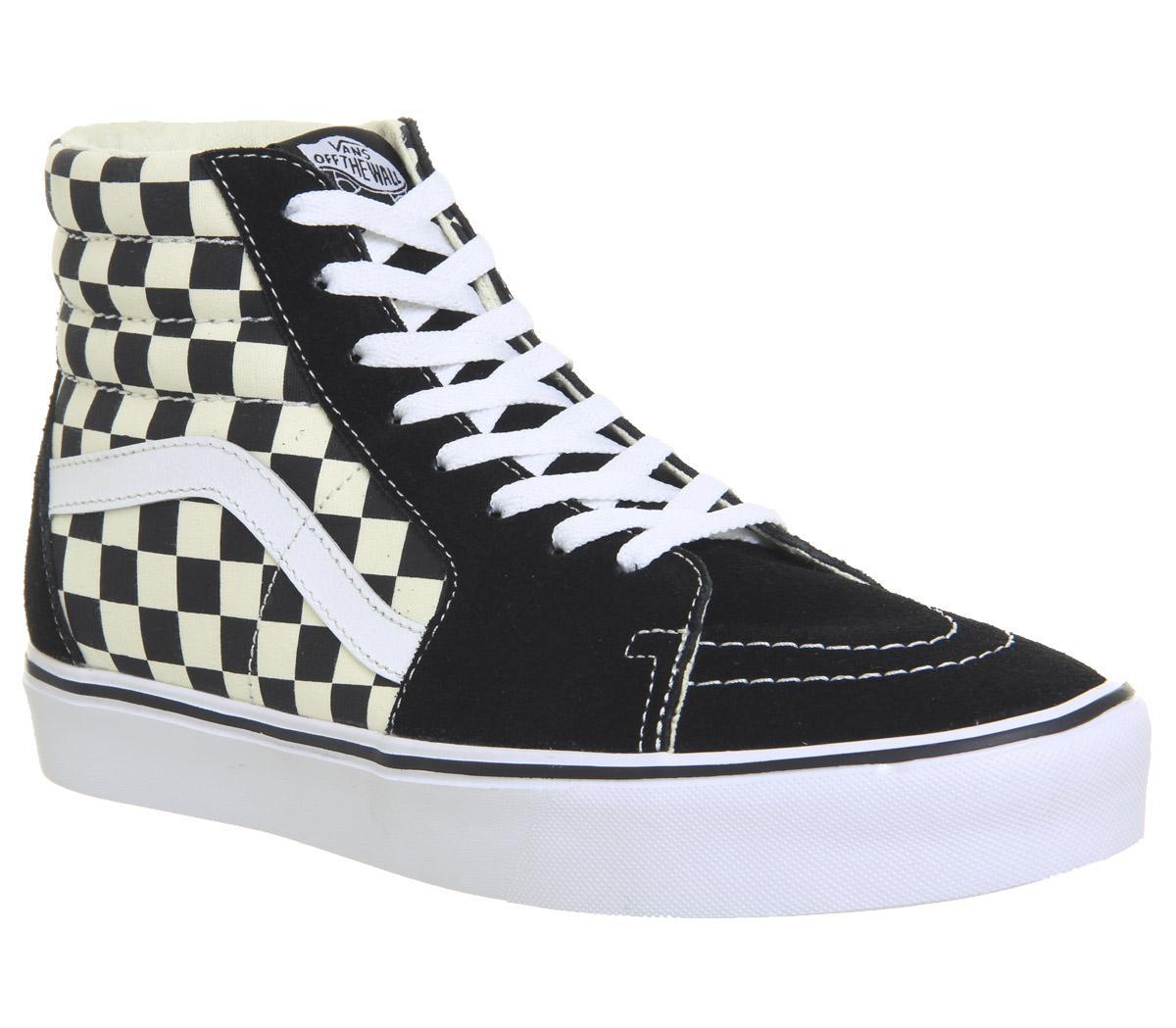 Vans Sk8 Hi Lite Black White