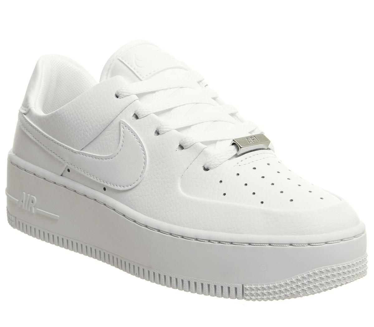 look for fashion styles release info on Air Force 1 Sage Trainers