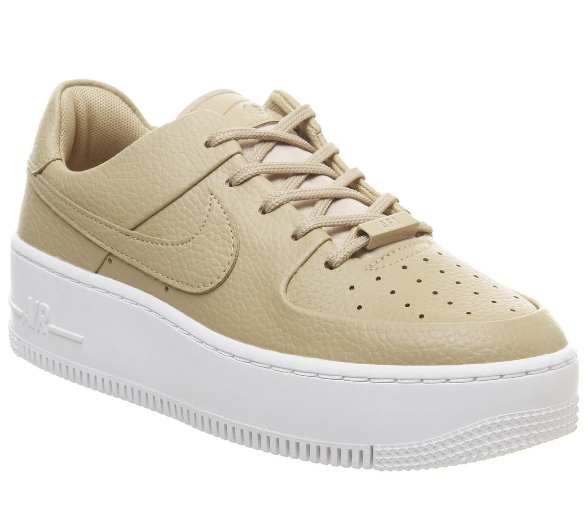 Nike Air Force 1 Sage Trainers Desert