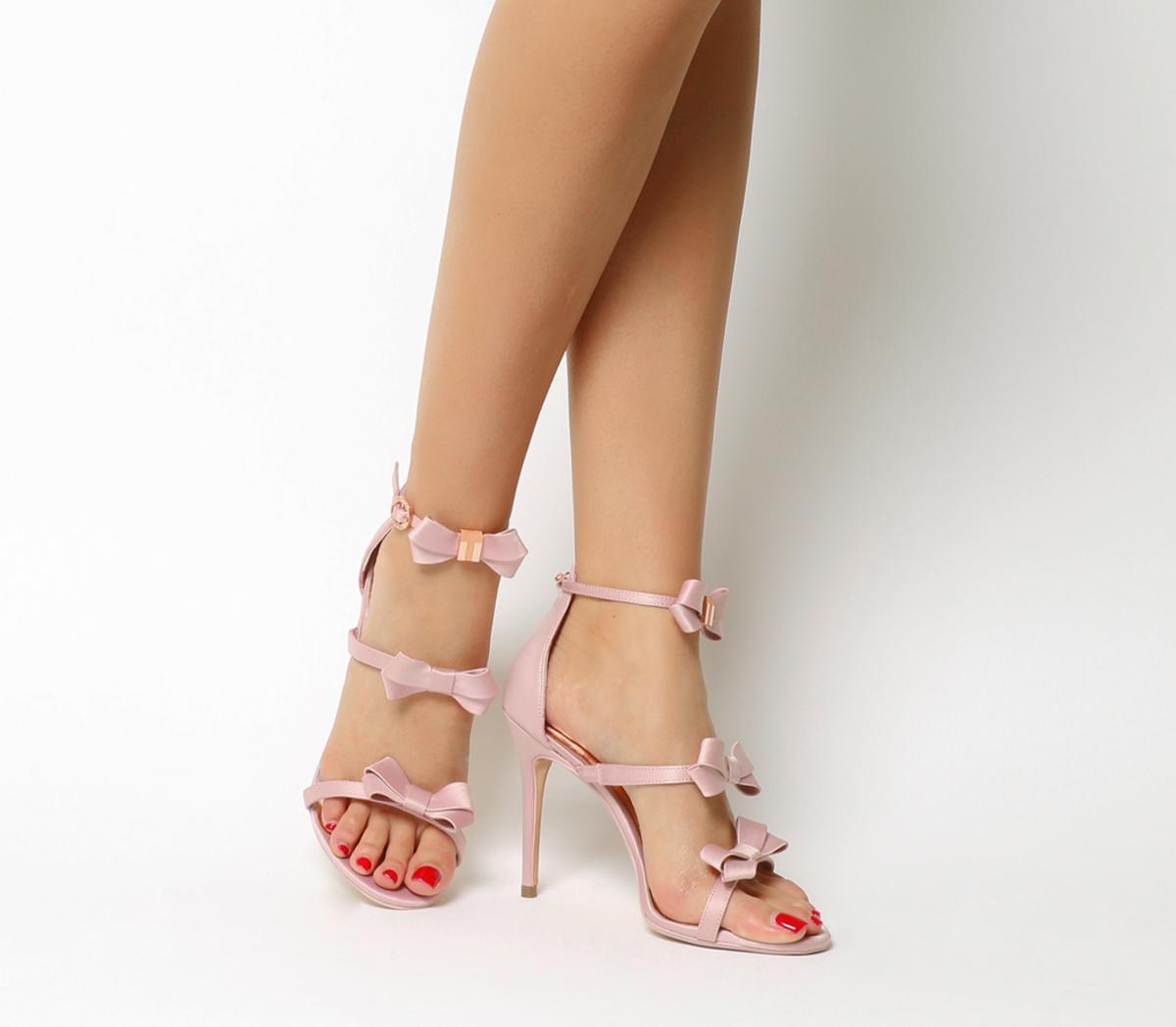 ted baker bow heels pink