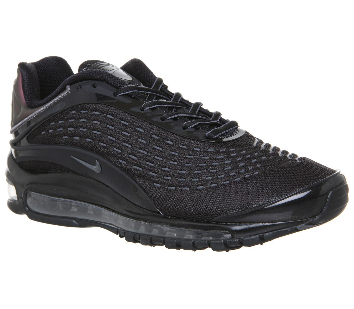 Nike Air Max Deluxe Trainers Black Mono