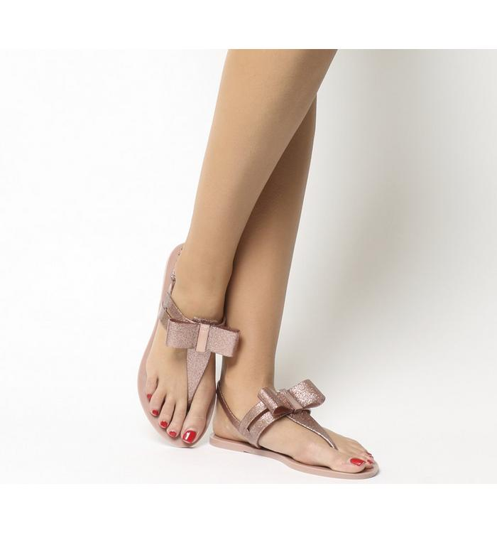 Zaxy Zaxy Glaze Sandal ROSE GLITTER