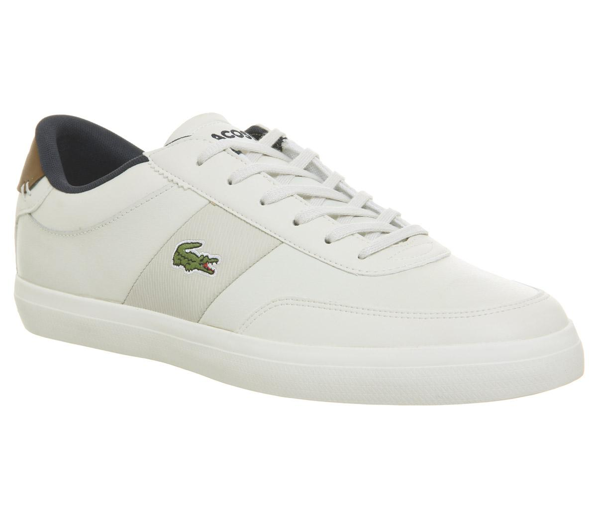 Lacoste Court Master Trainers Off White