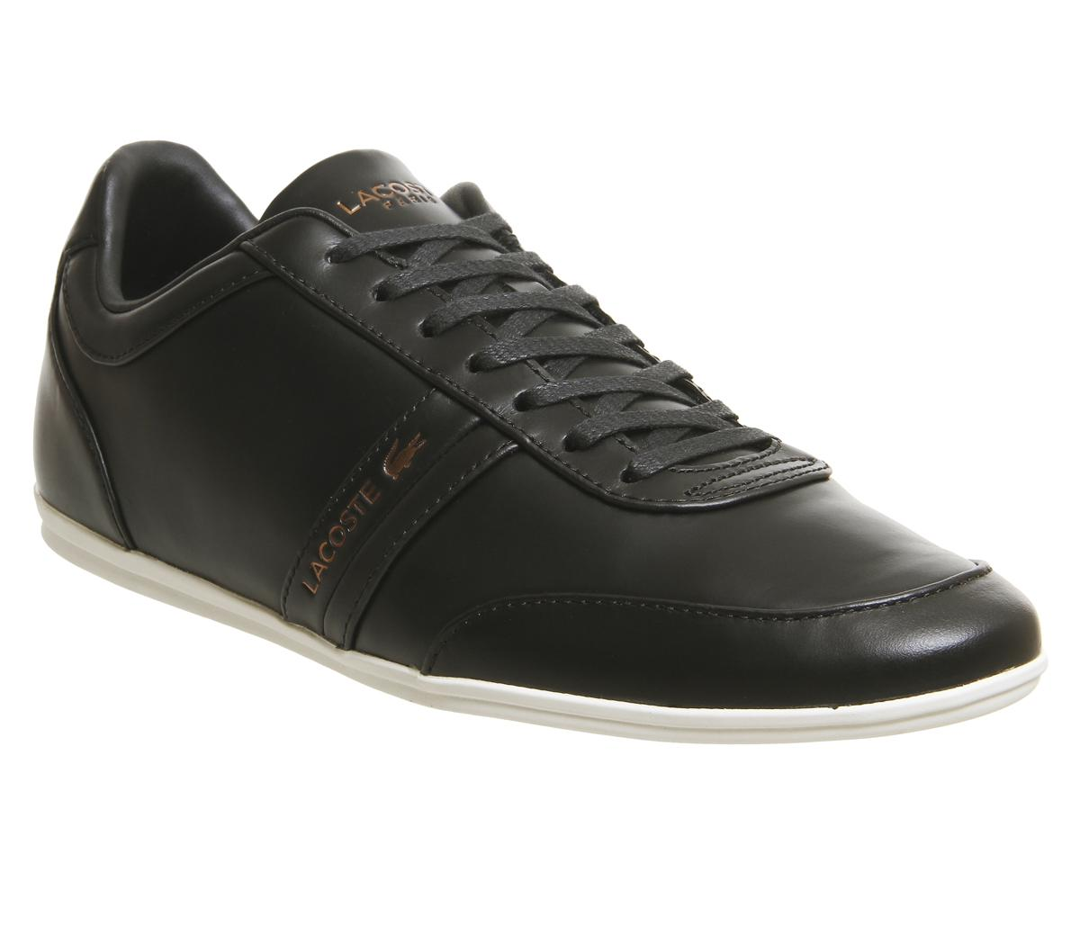 Lacoste Storda Trainers Black White