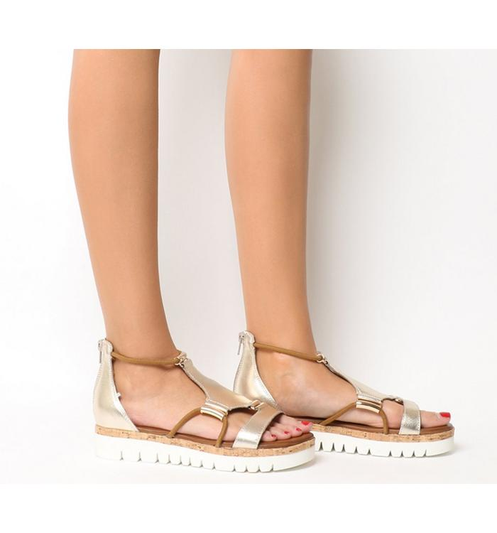 Inuovo Inuovo Flat Sandal GOLD
