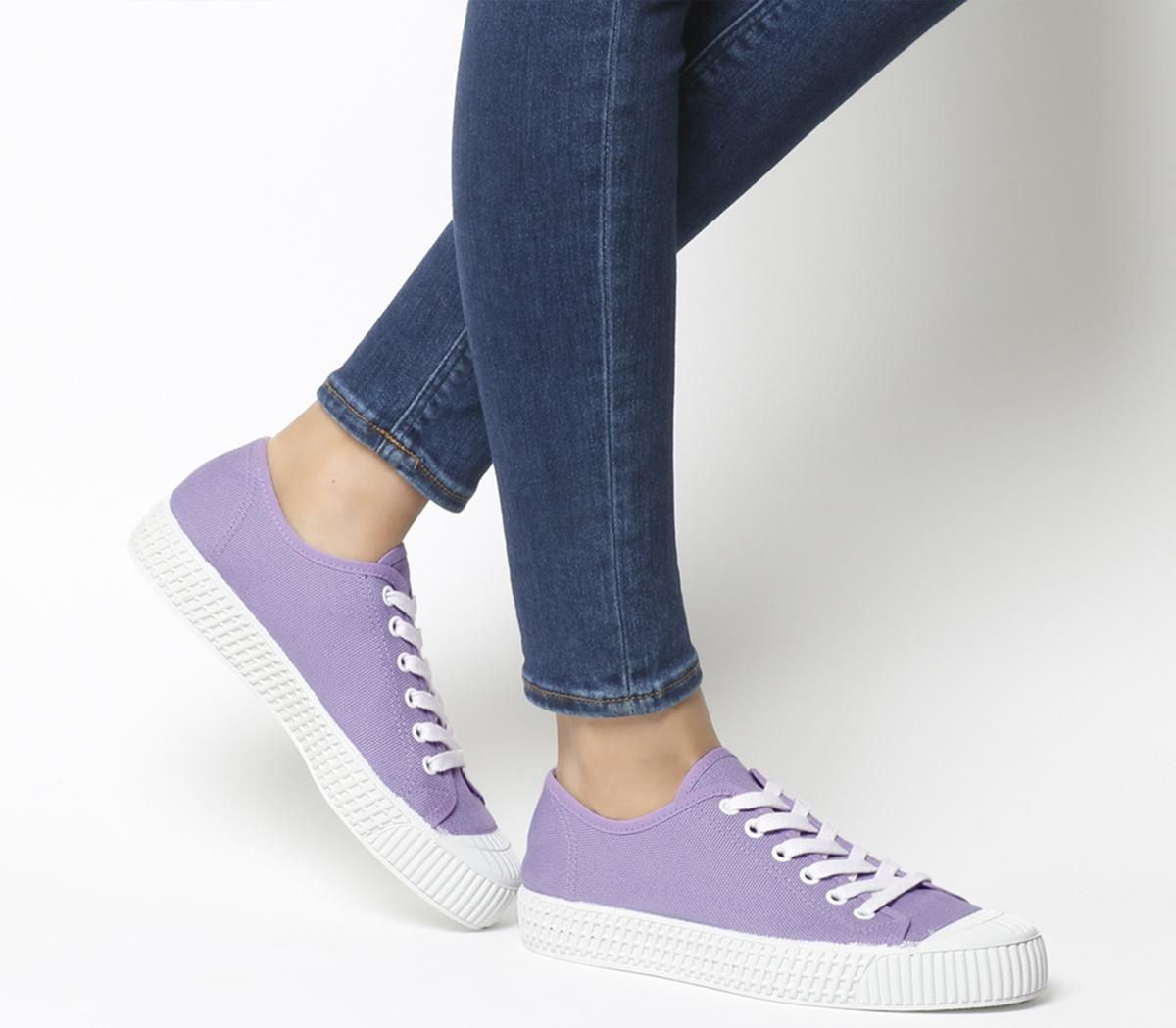 Frangipane Canvas Trainers
