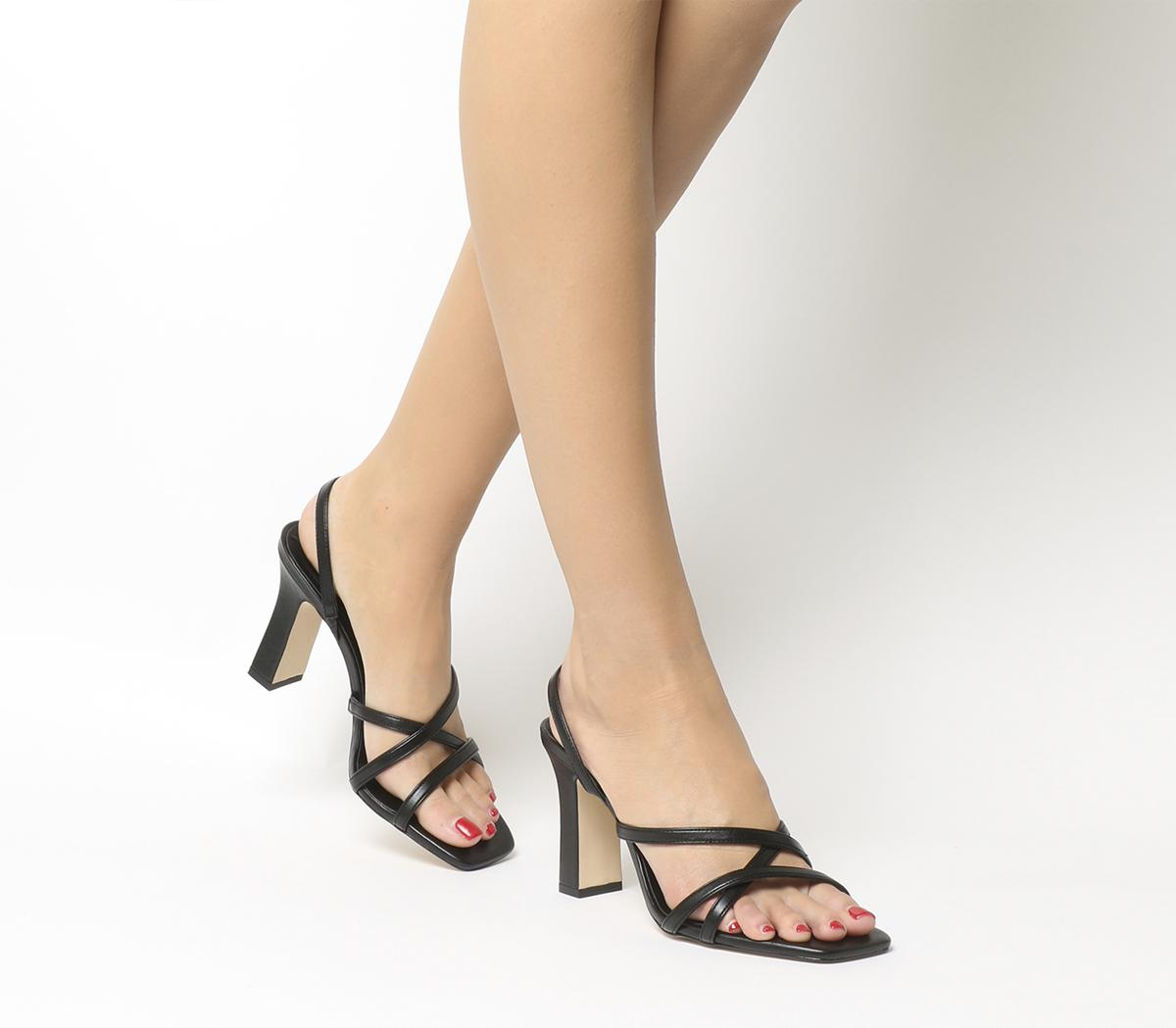 Office Mariah Square Toe Strappy