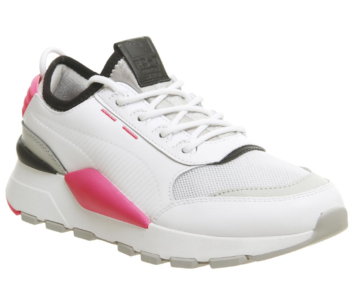 Edredón álbum Molester  Puma Rs-0 Sound Trainers Puma White Grey Knockout Pink - Hers trainers