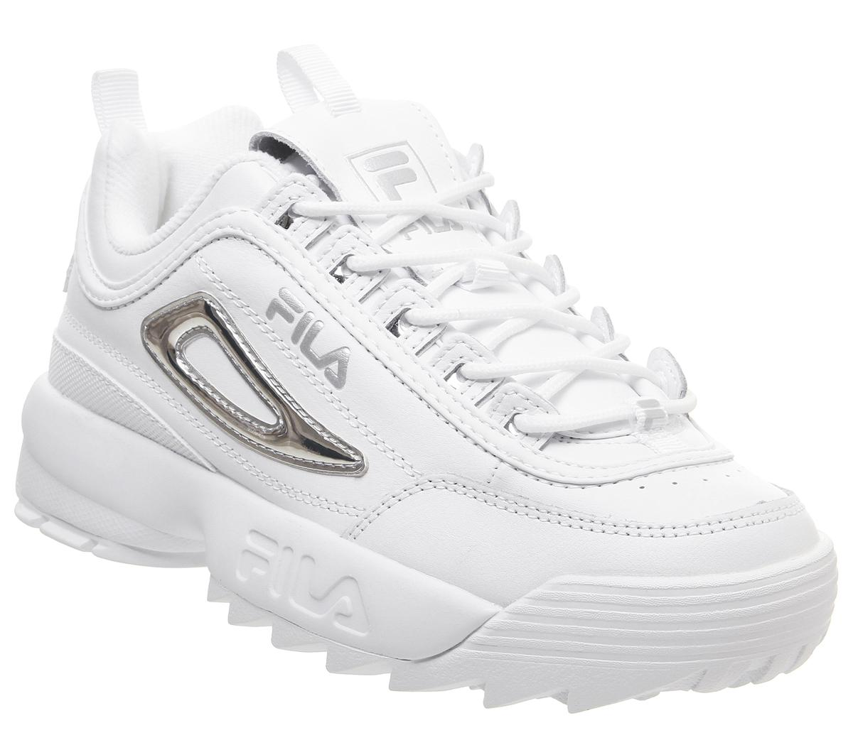 Fila Disruptor II Trainers White White