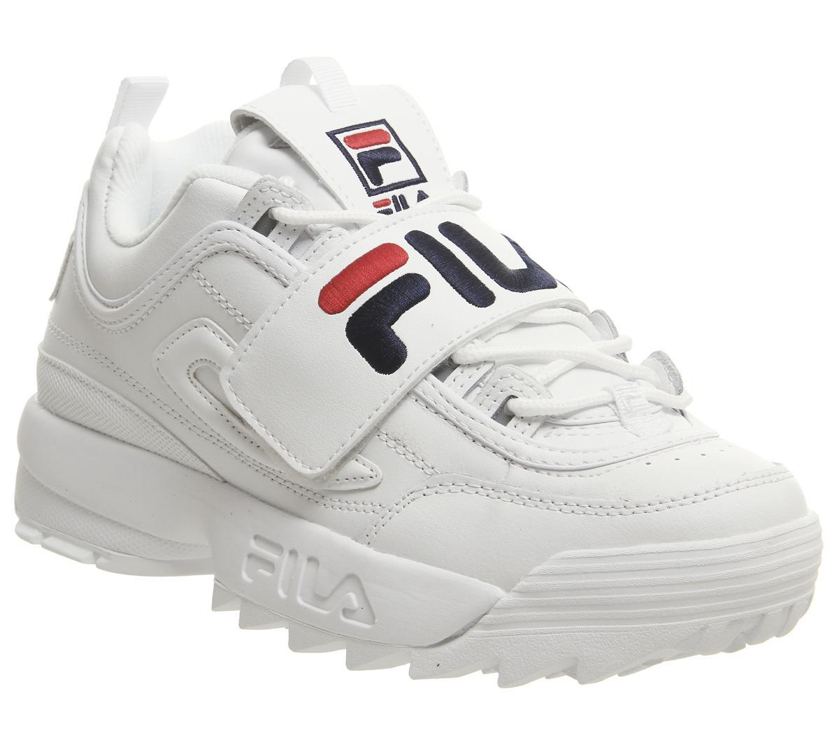 Fila Disruptor II Trainers White Fila