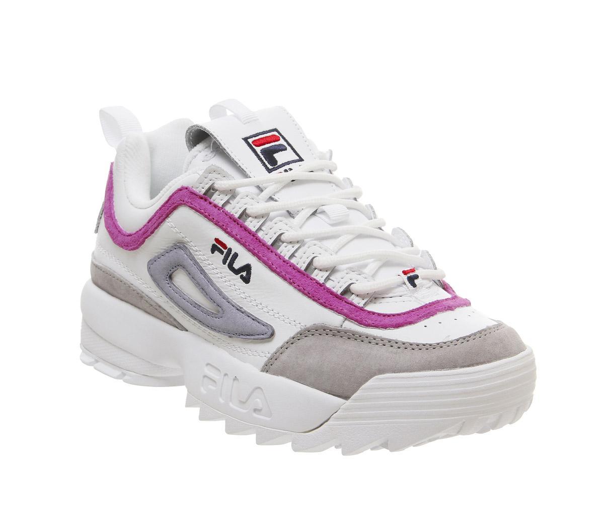 fila disruptor shoes pink