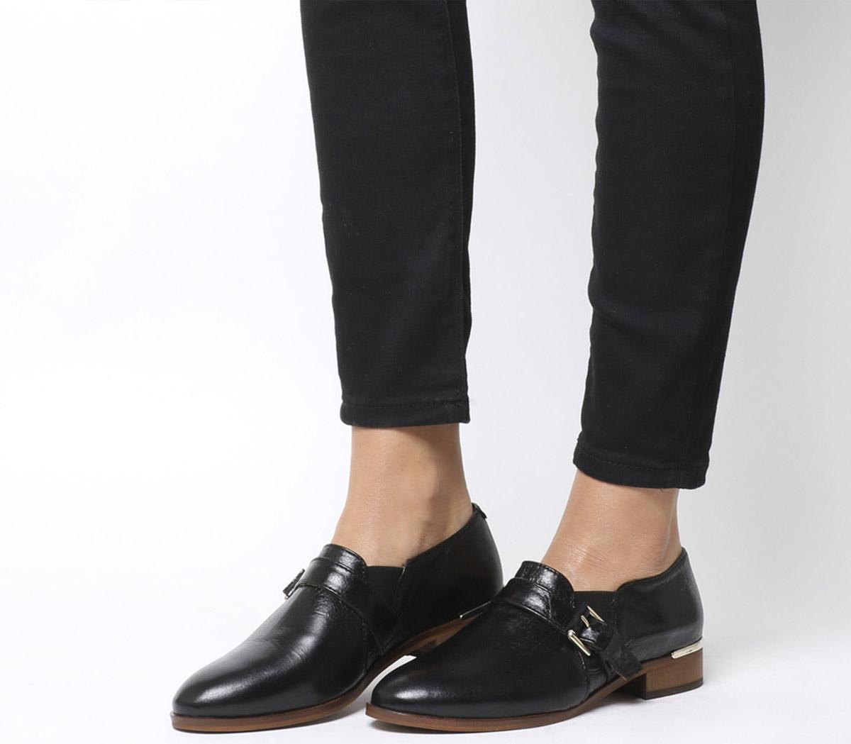 Fray Double Gusset Shoes