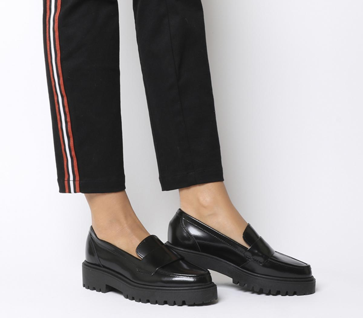 Black Box Leather - Back To School Shoes