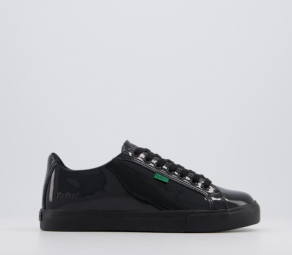 Tovni Lacer Patent Trainers