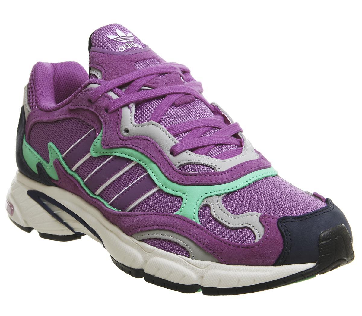 adidas Temper Run Shock Purple Glow