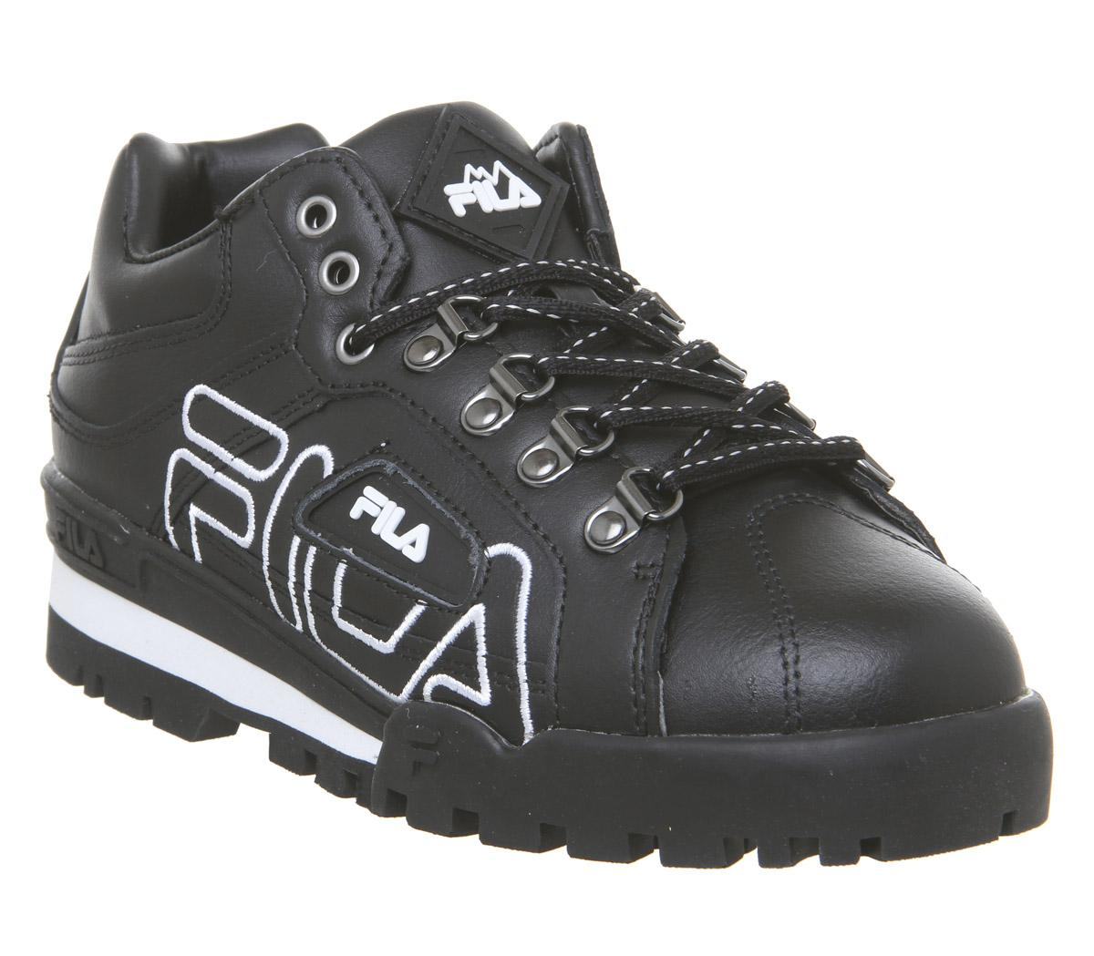 Fila Trail Blazer Black Black White F