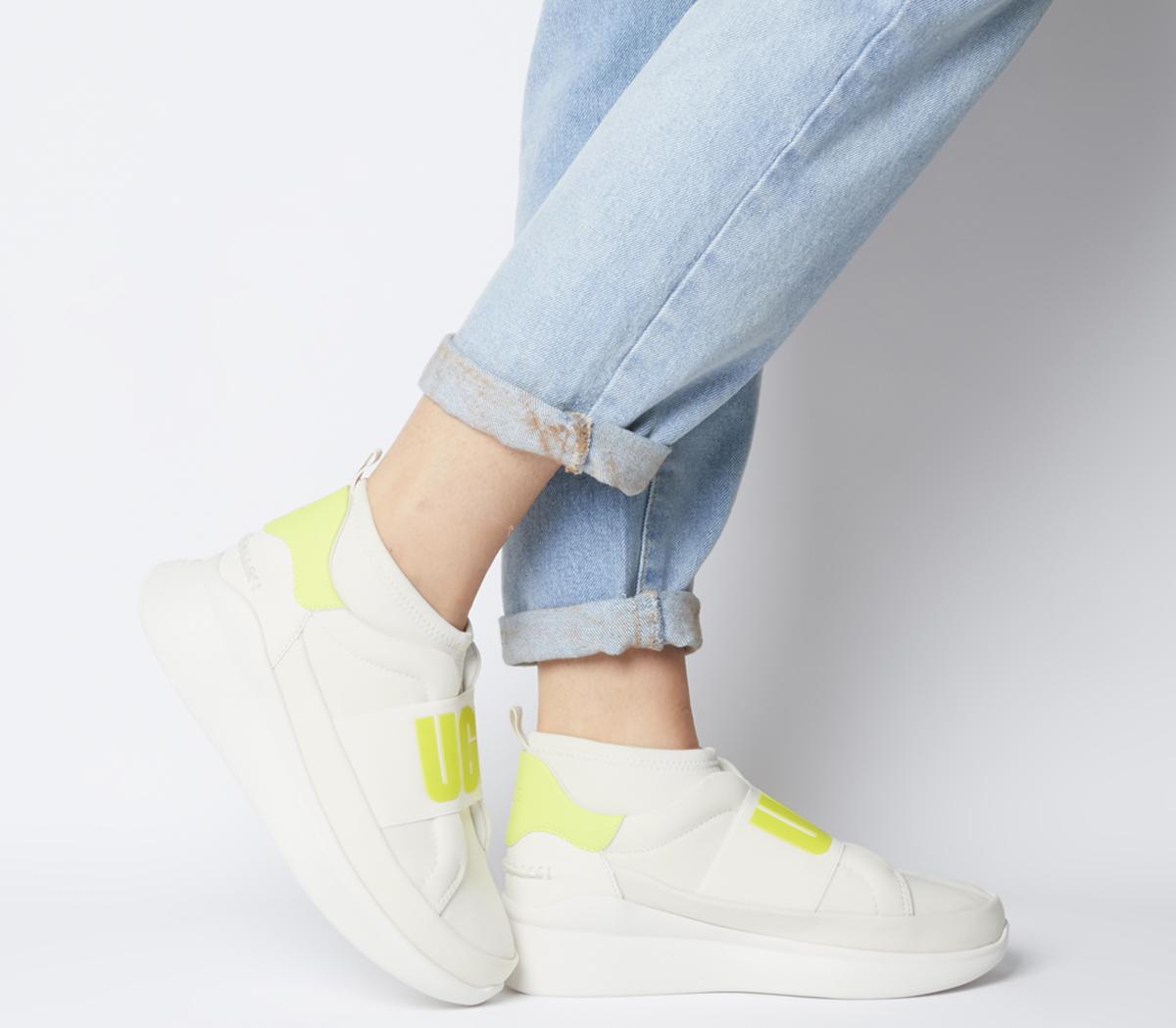 UGG Neutra Sneaker Coconut Milk Neon