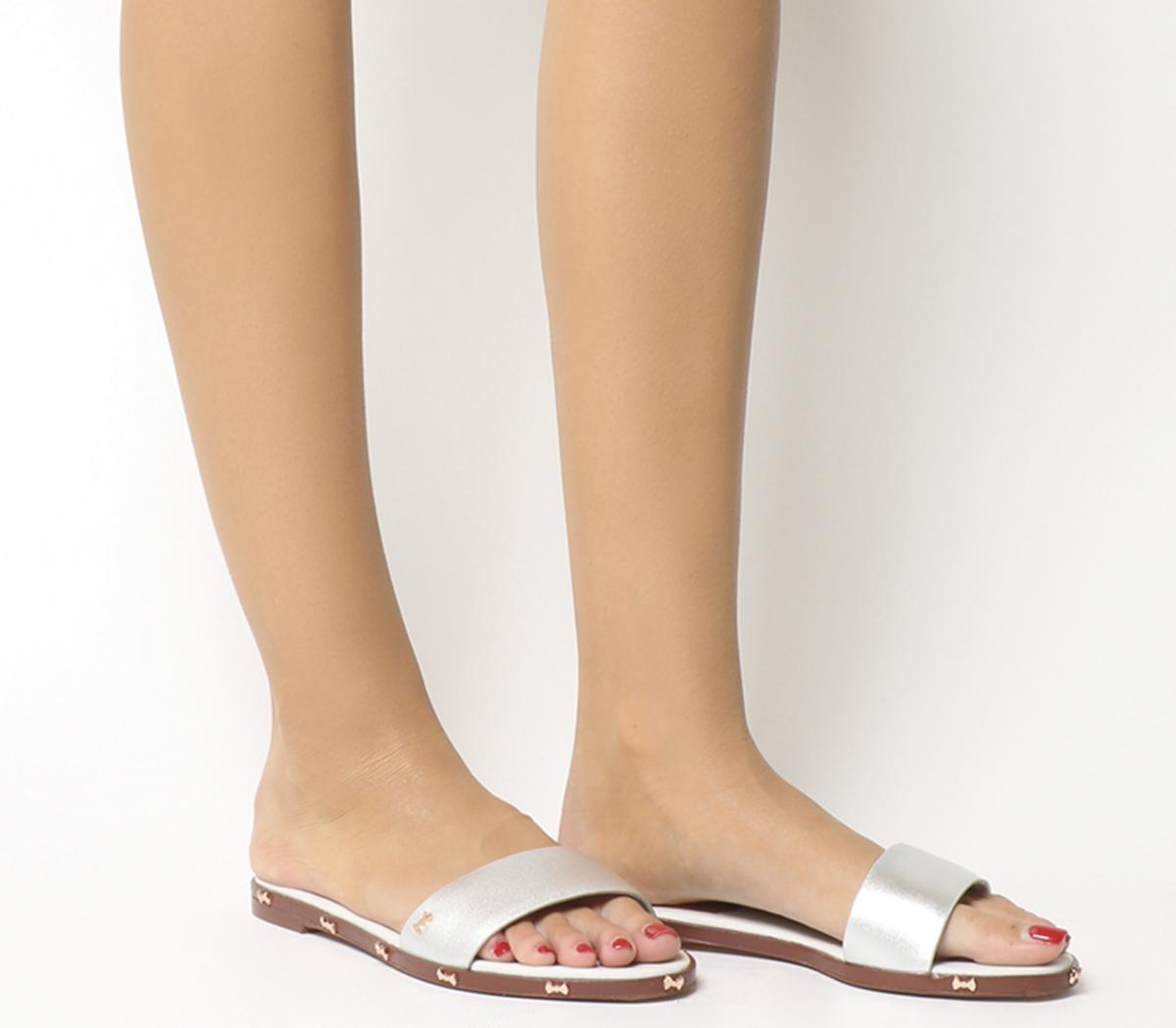 Womens Ted Baker Kytti Sandals Silver Sandals