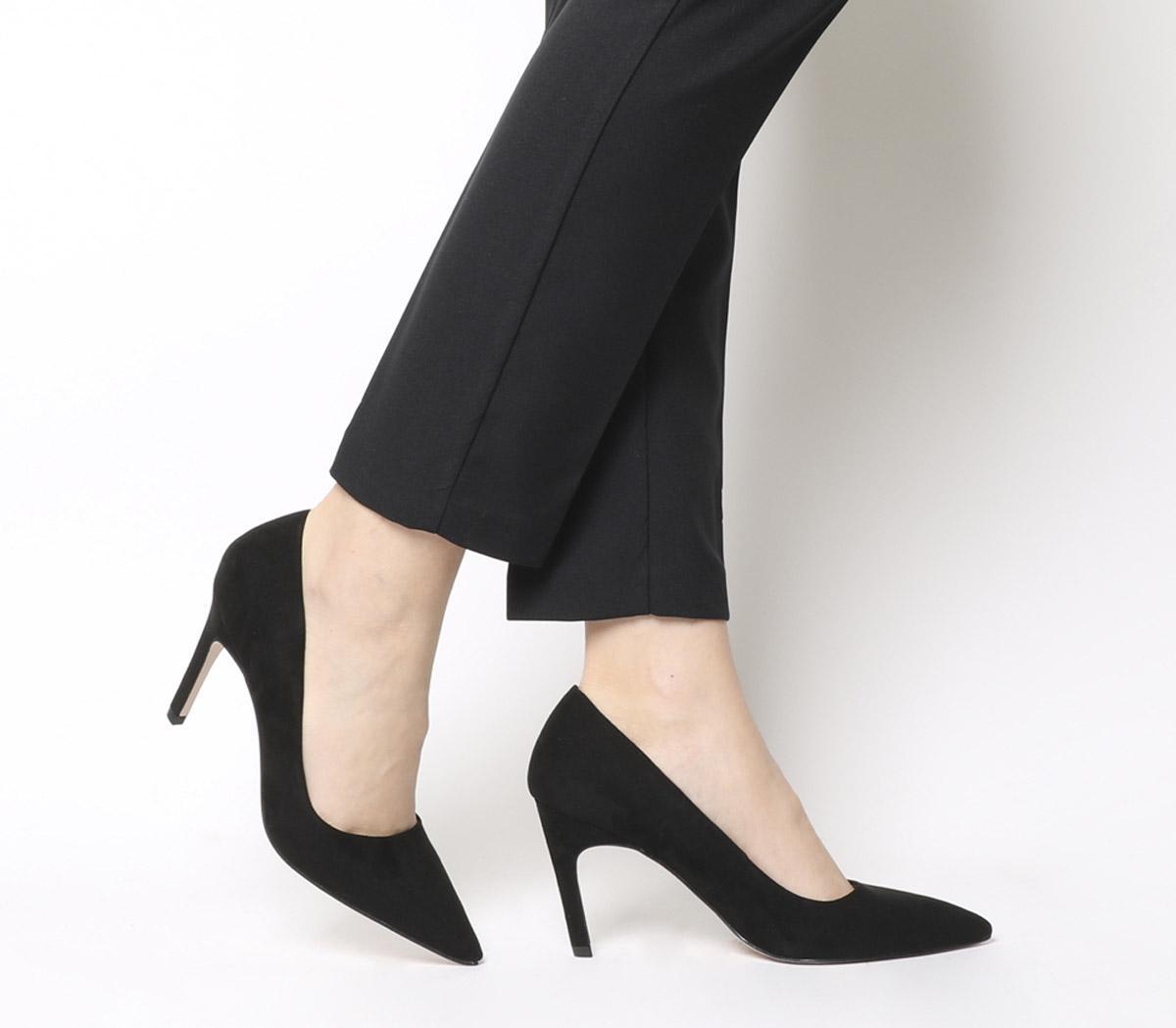 Office Magnum Court Heels Black - Mid Heels