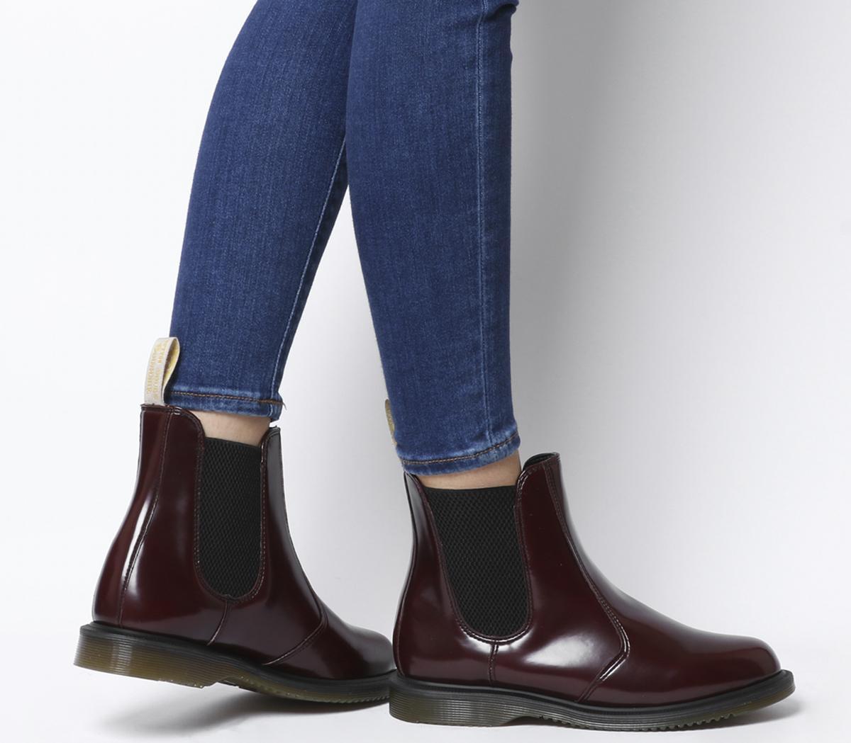 Dr. Martens Vegan Flora Chelsea Boots