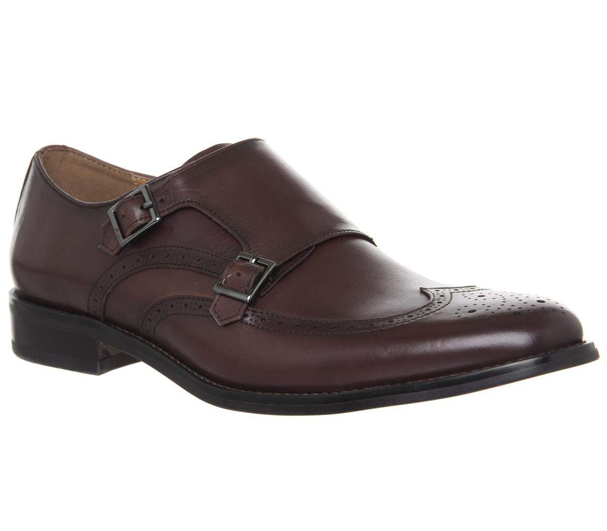 Import Brogue Monk Shoes