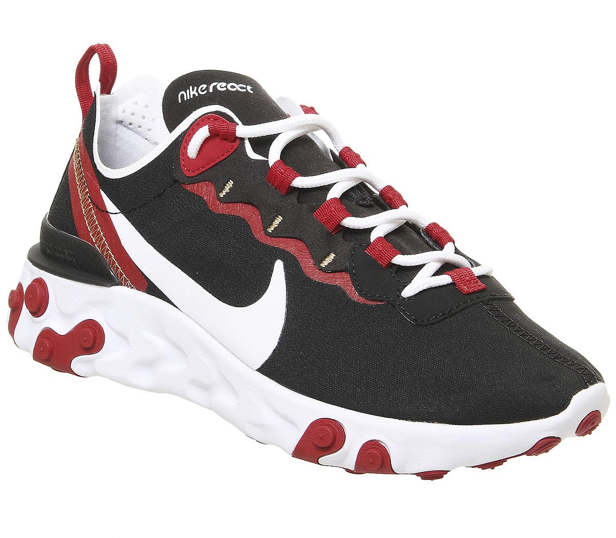 Nike Element React 55 Trainers Black