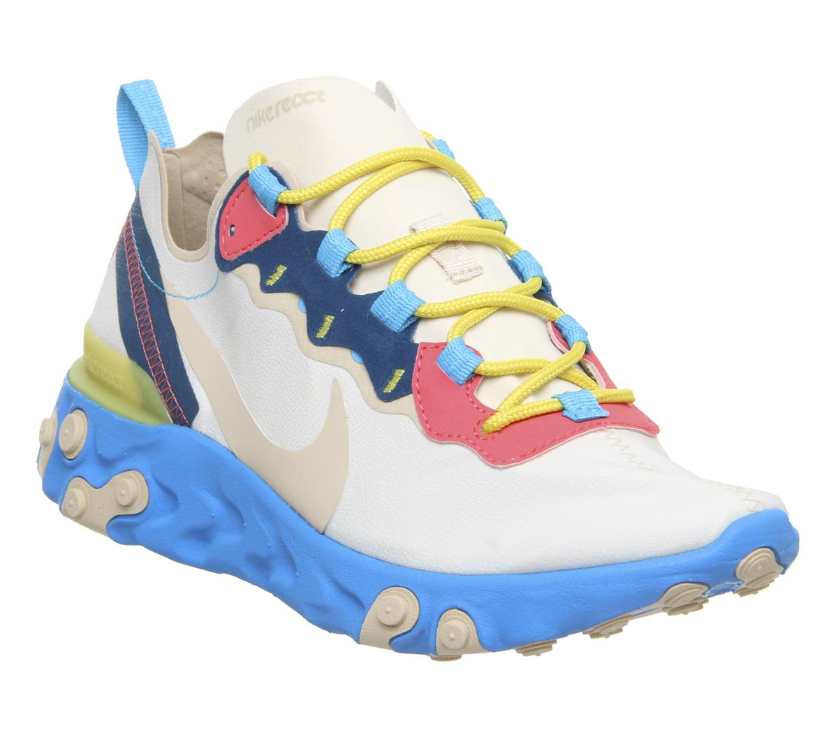 Nike React Element 55 Trainers Light
