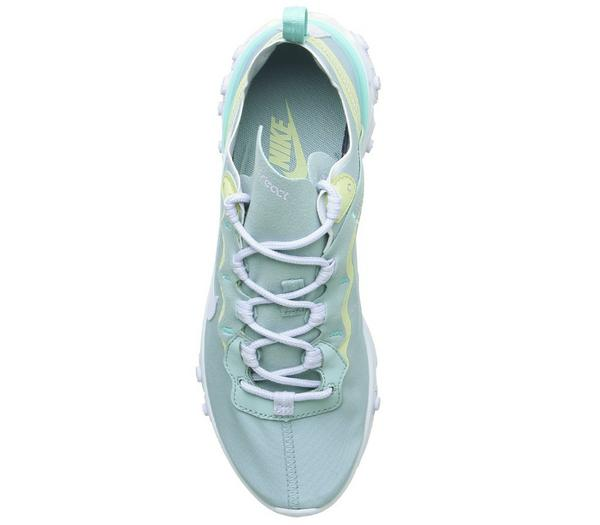 Nike Element React 55 Trainers Ocean Cube Amethyst Tint Luminous Green - His trainers SzMXfGh