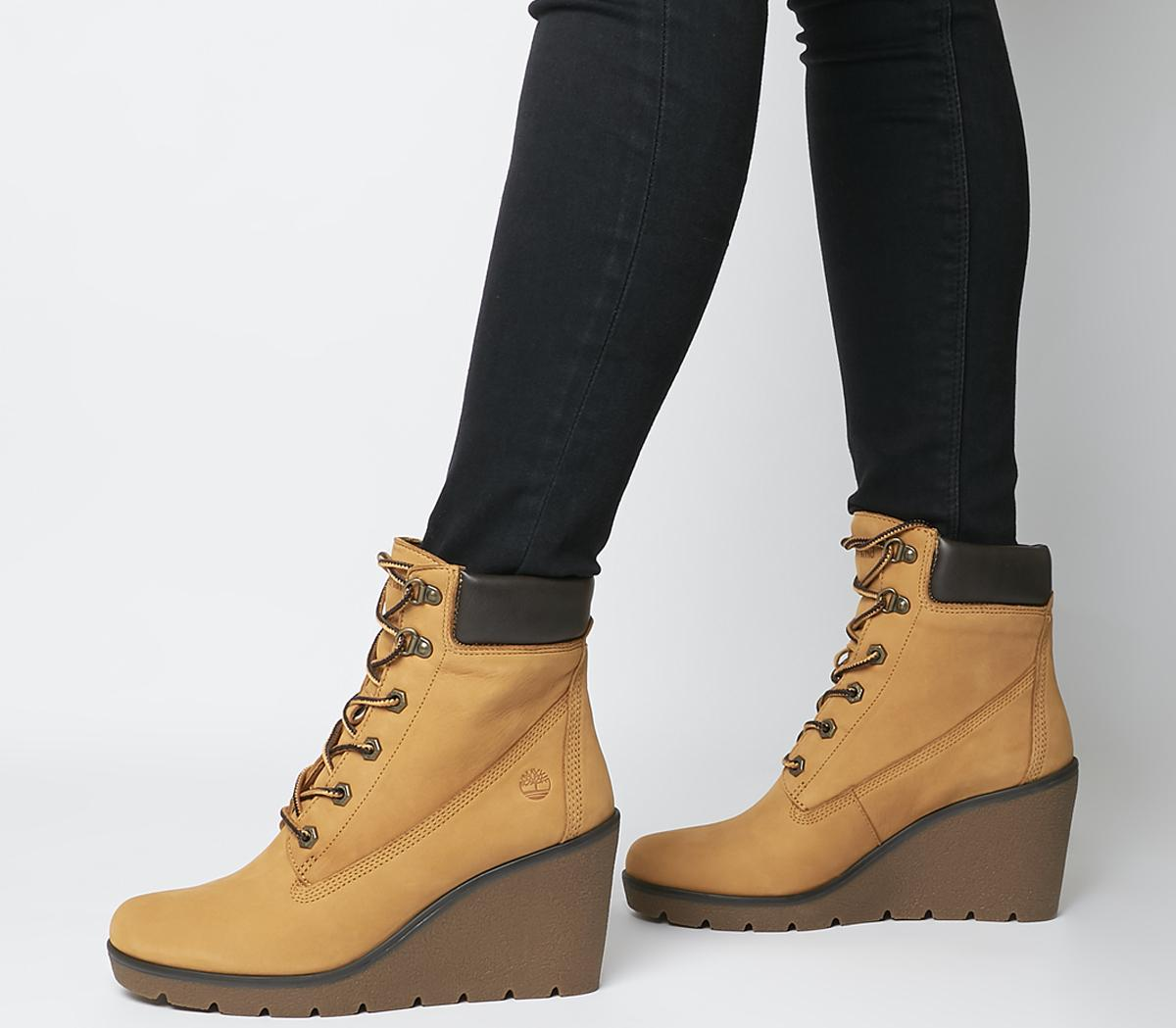 Paris Height 6 Inch Wedge Boots