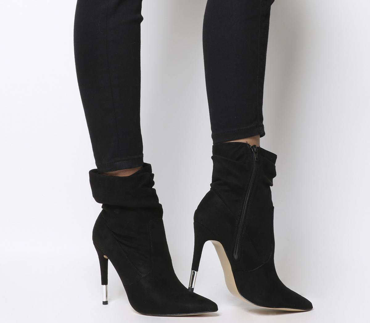 Angel-r-slouch Stiletto Ankle Boot