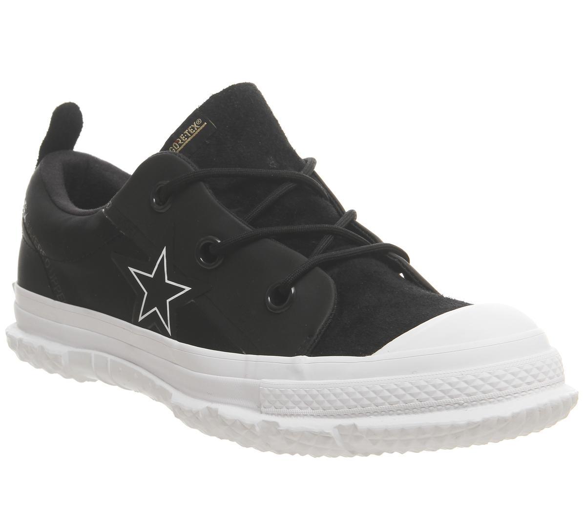 Converse One Star Mc18 Ox Black White