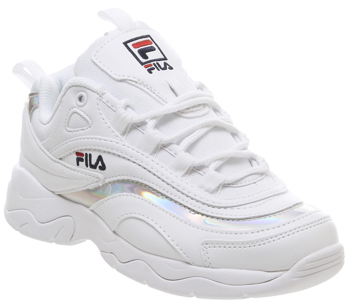 fila ray trainers junior